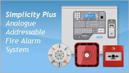 Simplicity Plus Analogue Addressable Fire Alarm System