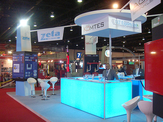Zeta stand at Intersec